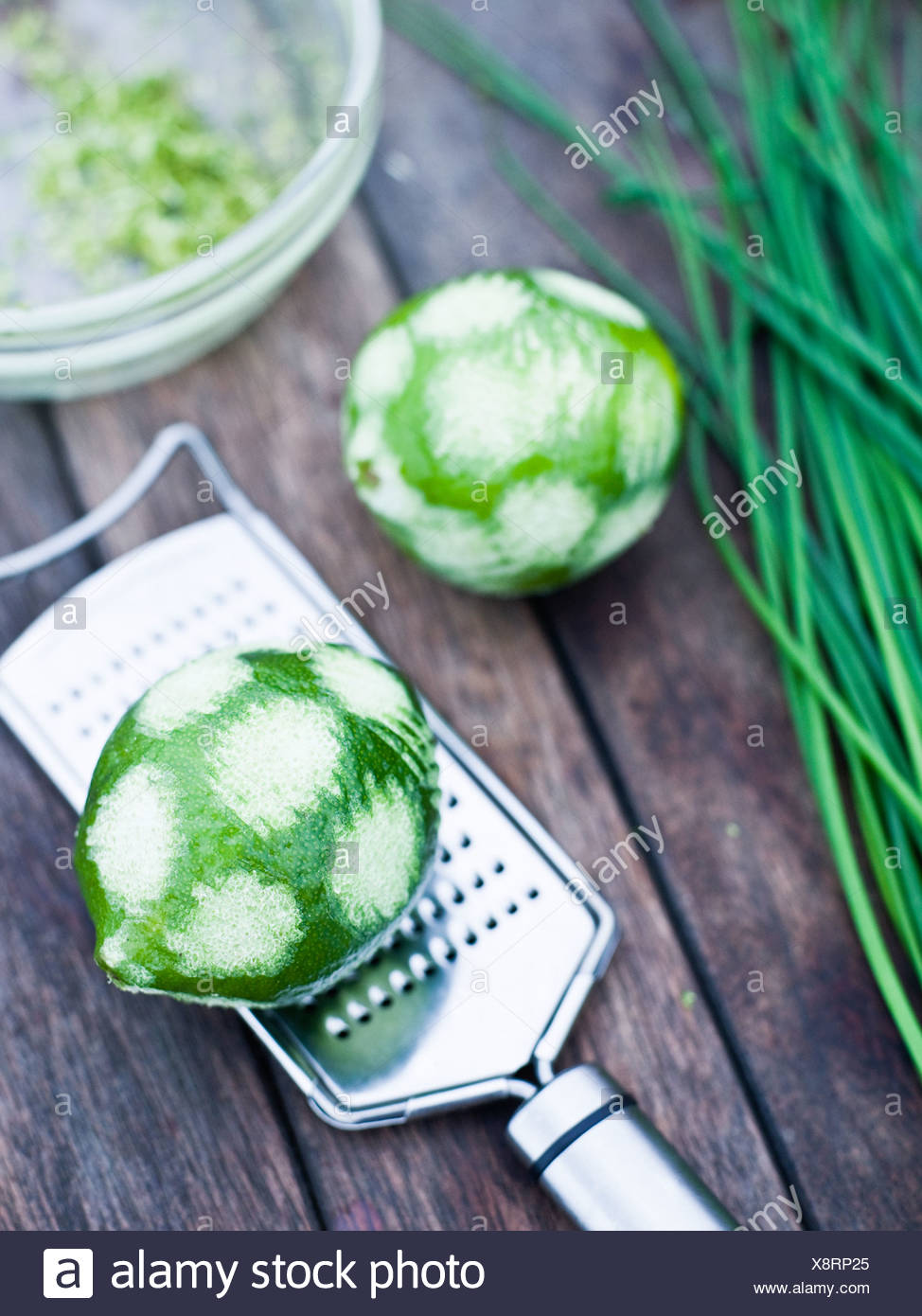Lime, close-up, Sweden. Stock Photo