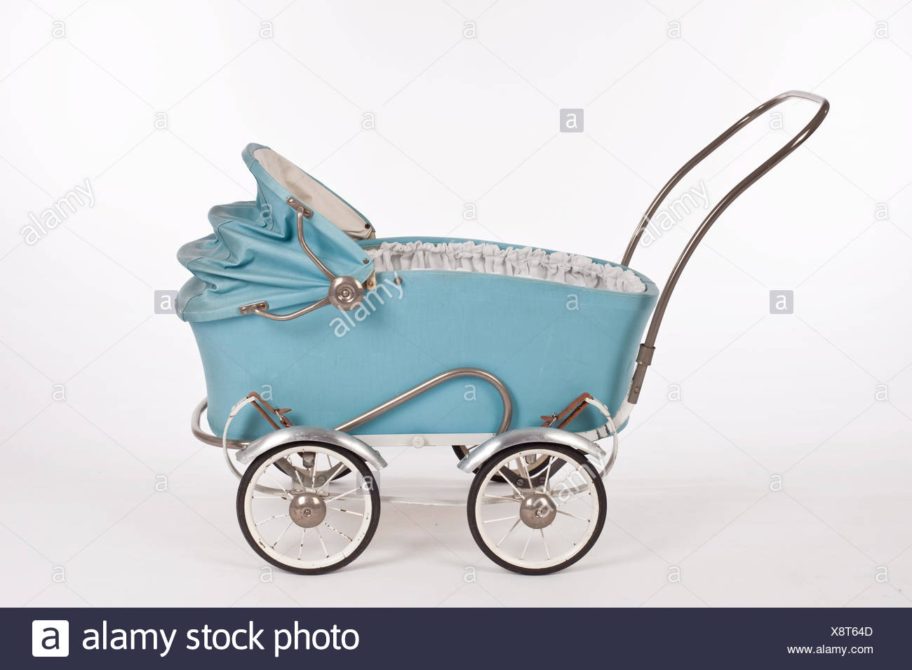 baby stroller,doll buggy,vintage Stock Photo
