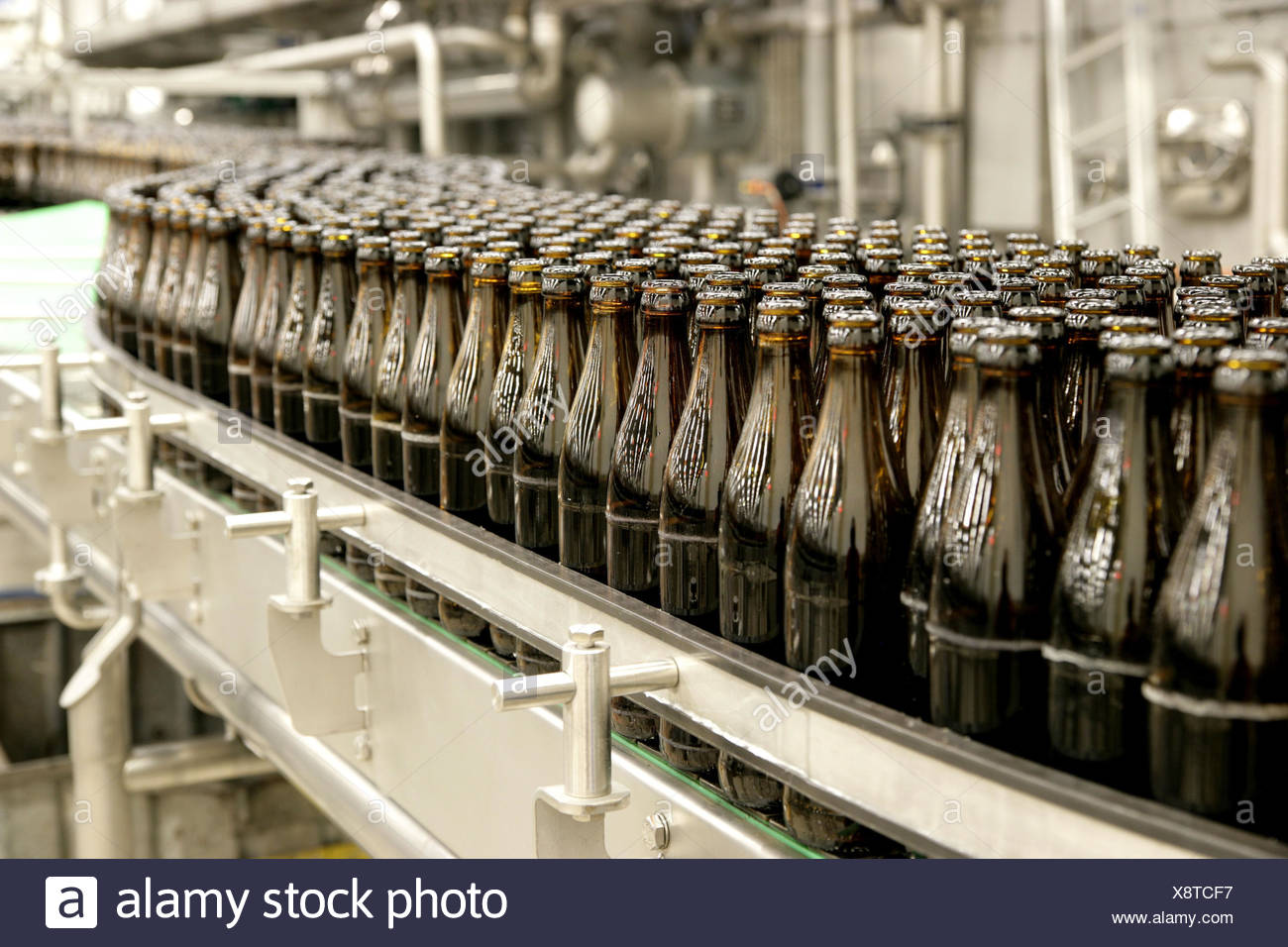 Beer Production Line Stock Photos Amp Beer Production Line