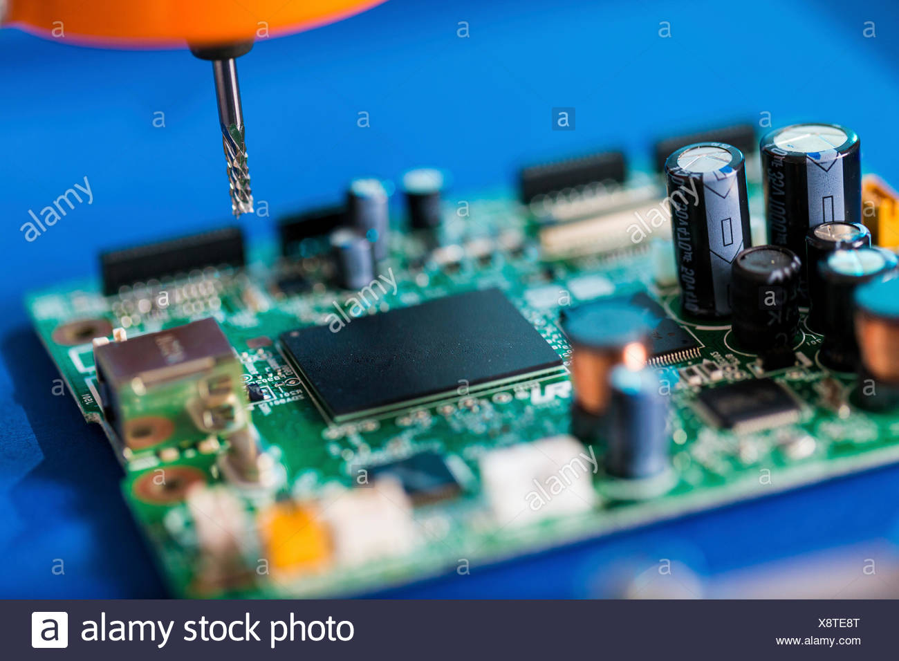 Printed Circuit Board Processing On Computer Numerical Control Machine