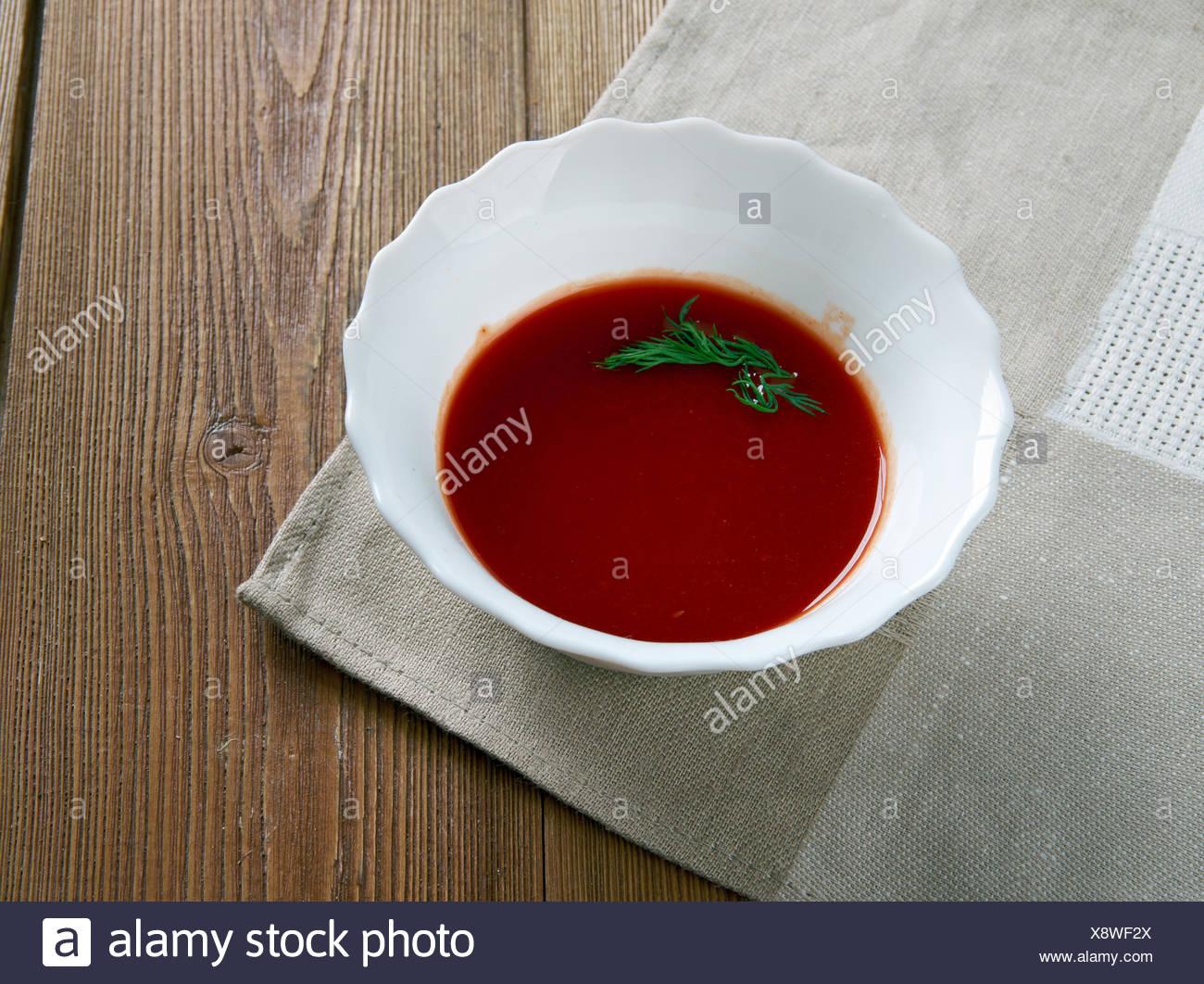 espagnole sauce - Stock Image