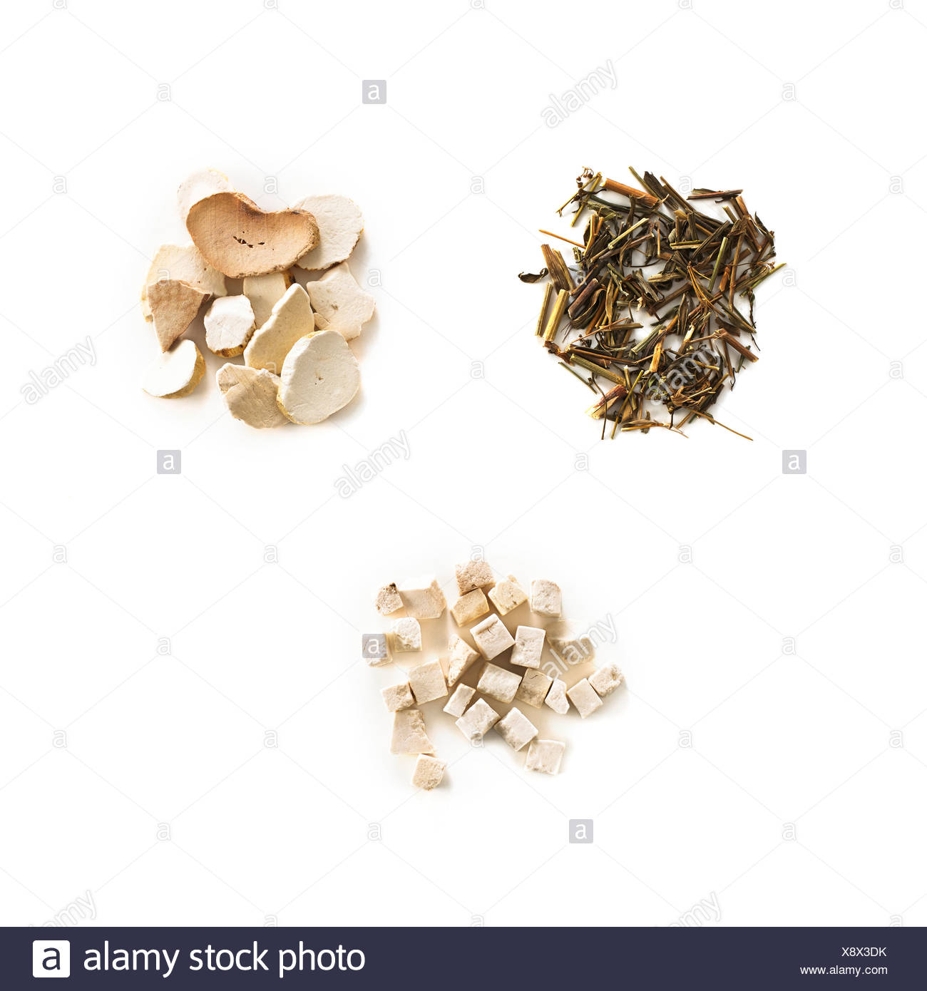 Chinese herbal medicines - Stock Image