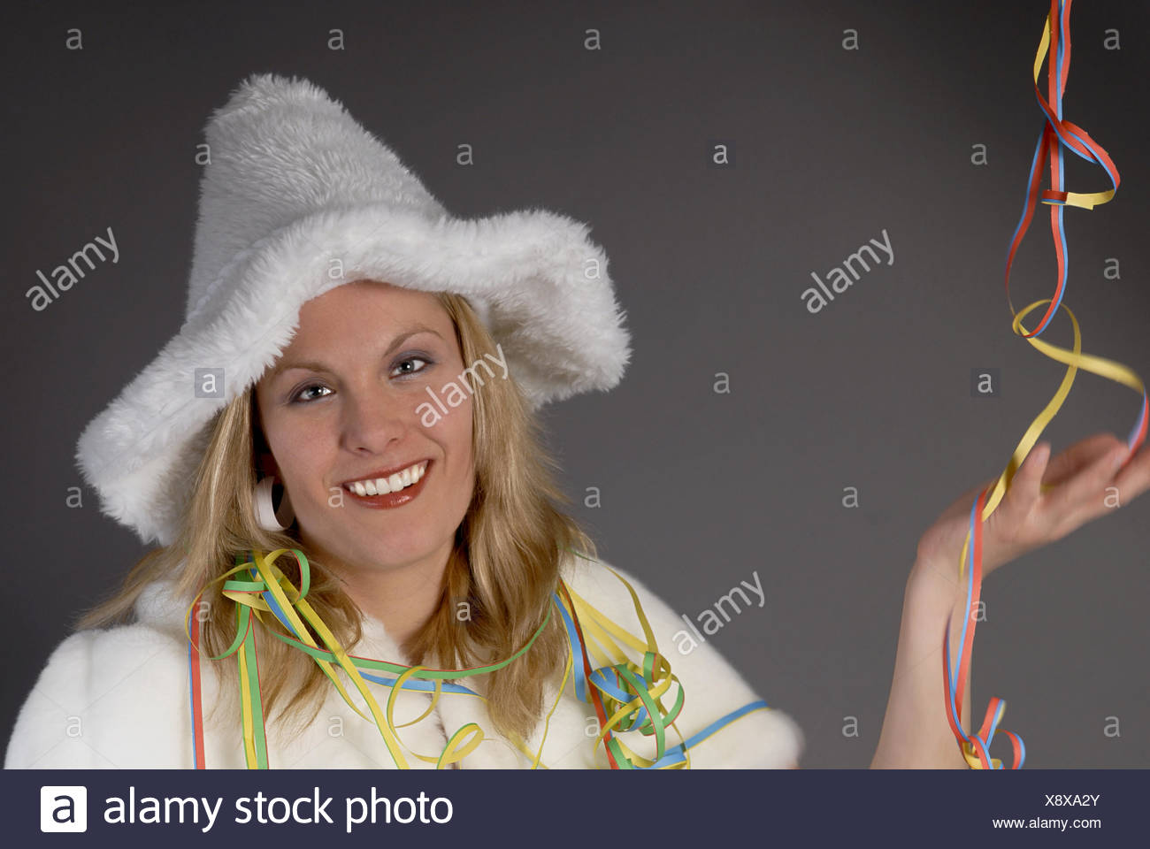 Carnival disguise - Stock Image
