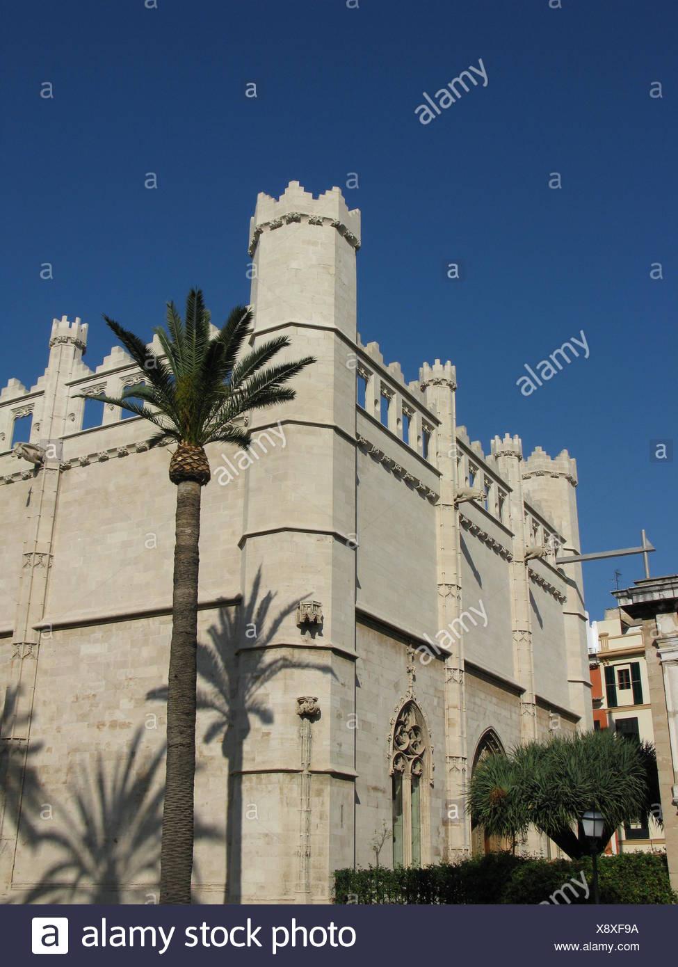 Gotische Handelsbörse in Palma Stock Photo