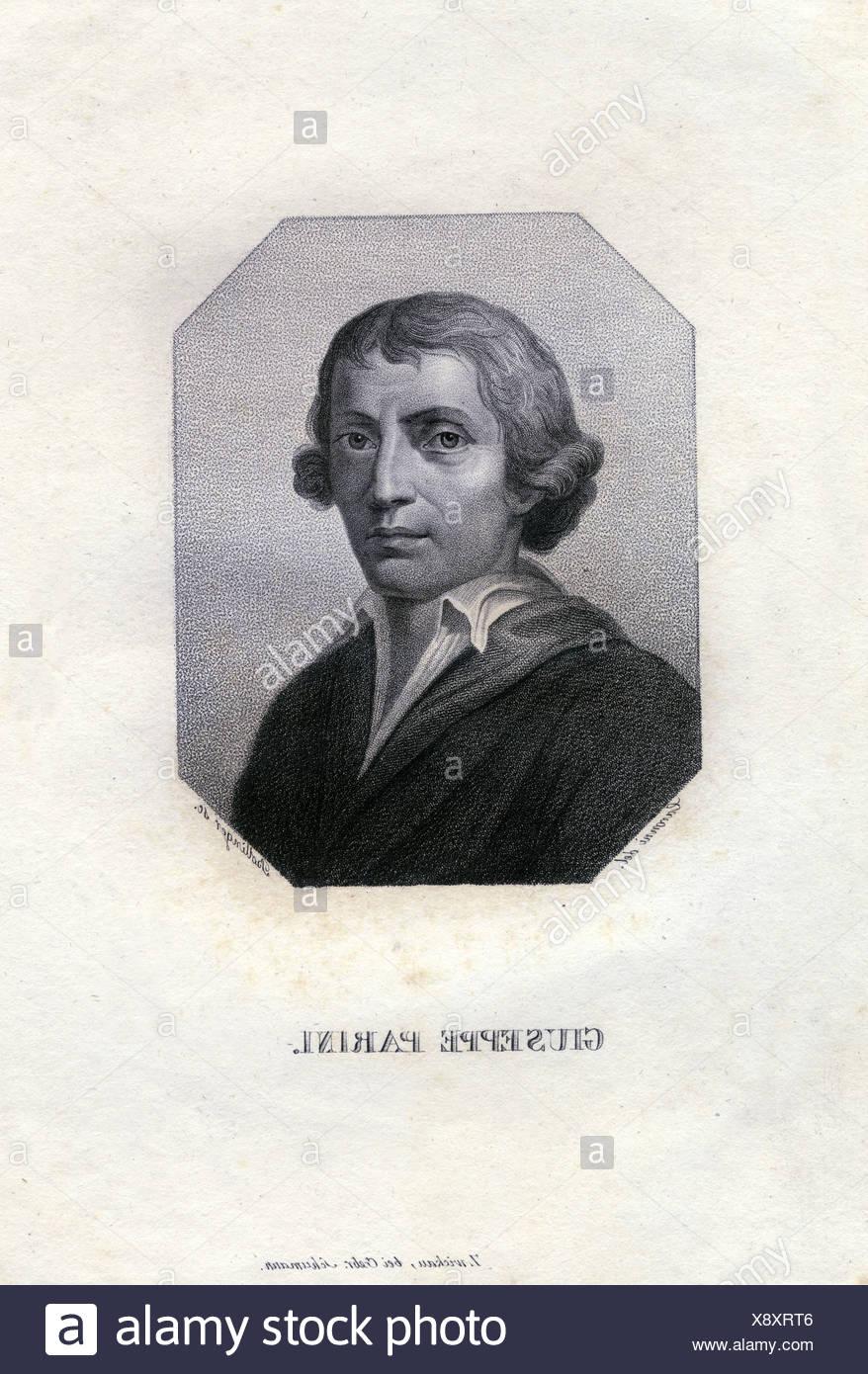 Parini Giuseppe 23 5 1729 15 8 1799 Italian Author Writer