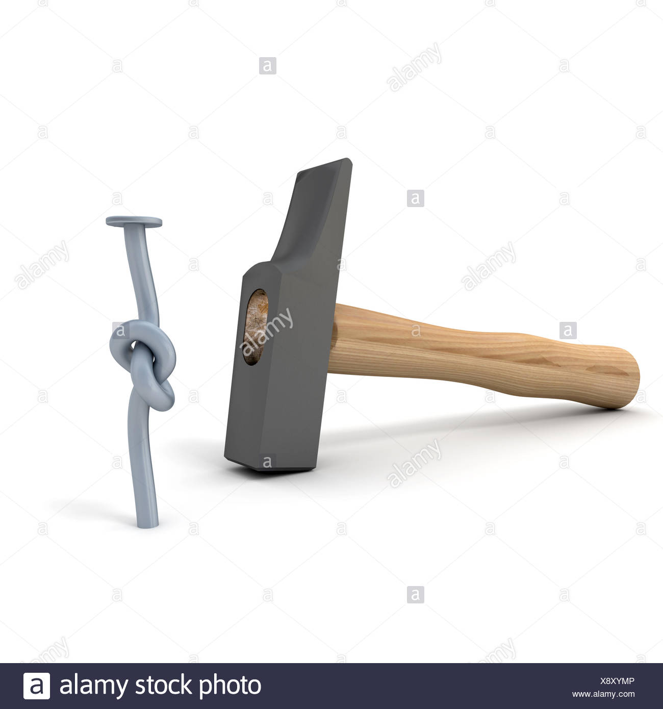 tool object humour - Stock Image