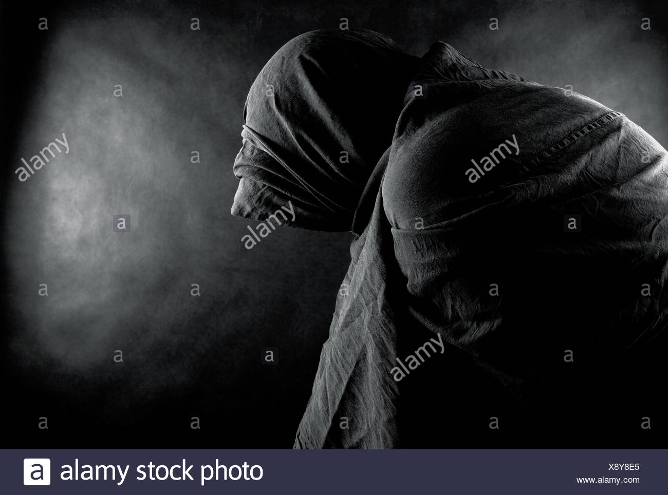 danger death darkness - Stock Image
