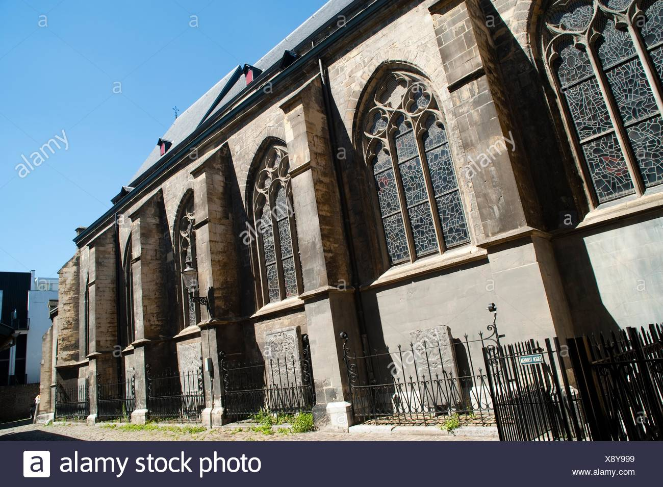 Sint Matthias Kerk Saint Matthew´s church, Maastricht, Limburg, The Netherlands, Europe Stock Photo