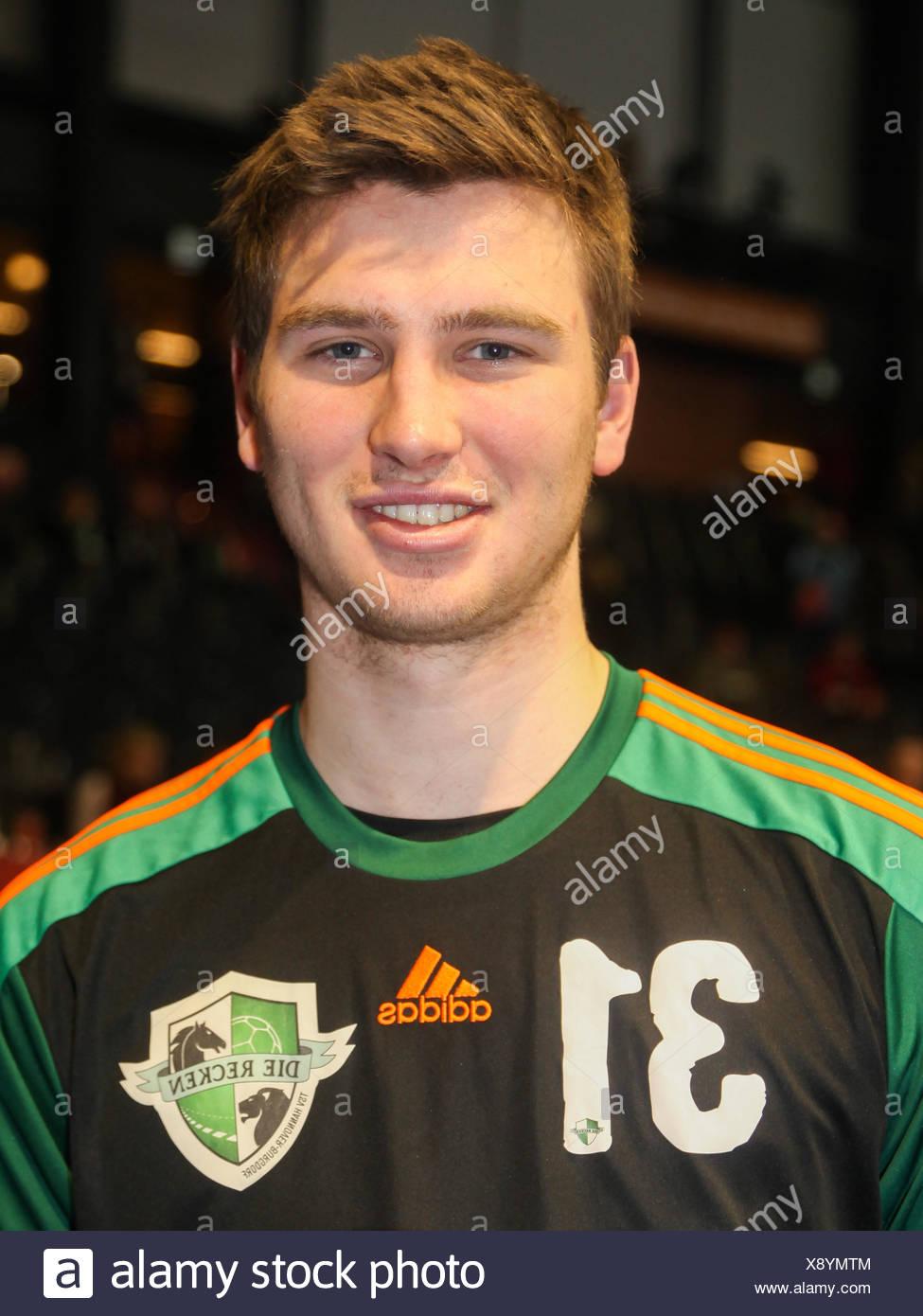 Maurice Dräger (TSV Hannover-Burgdorf) Stock Photo