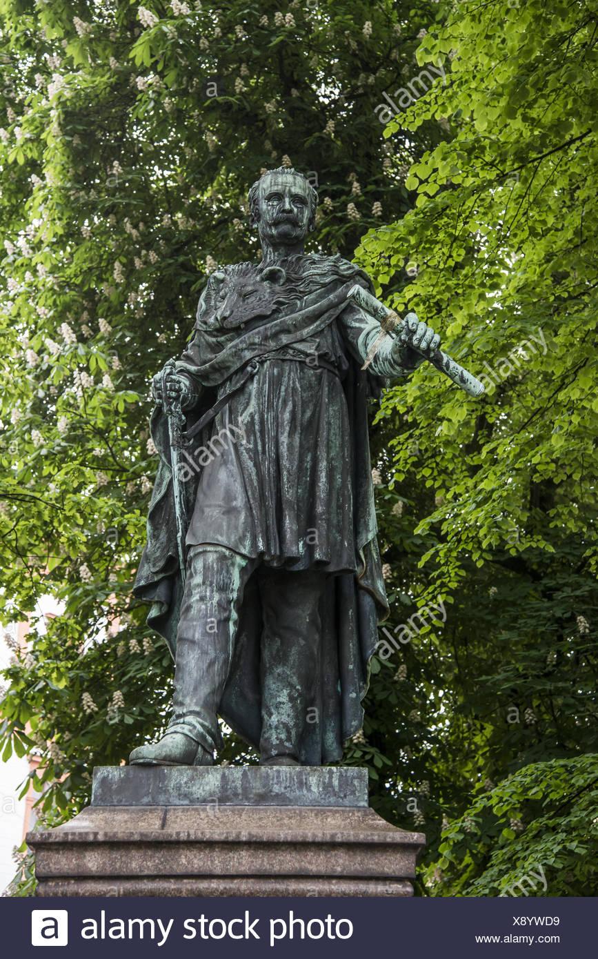 Memorial of Bluecher - Stock Image