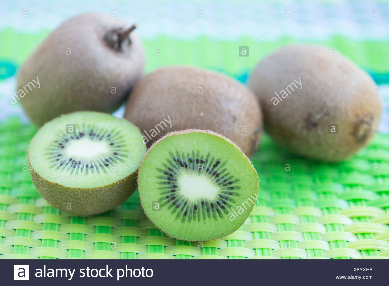 Kiwi fruit. Stock Photo