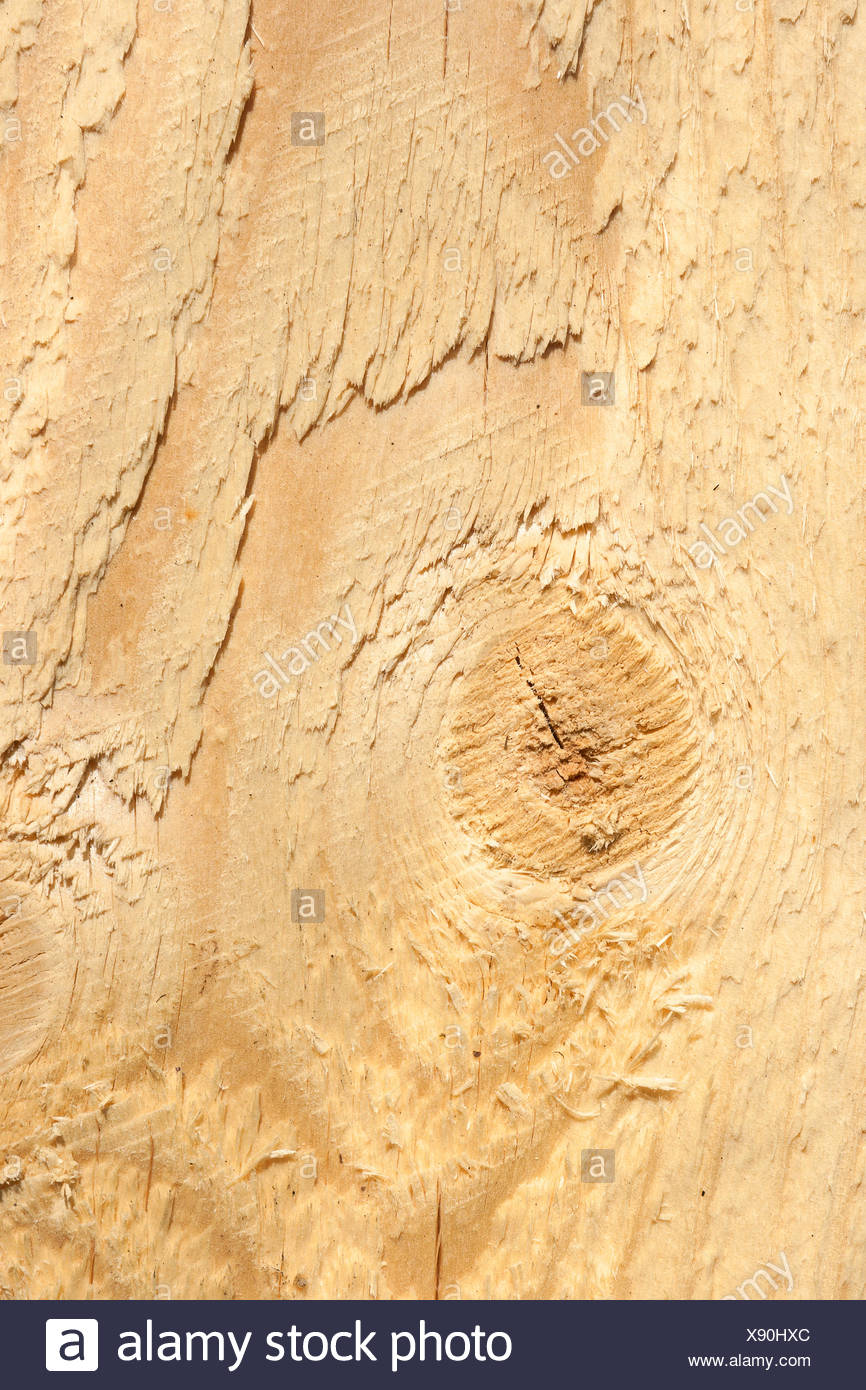Wooden plank - Stock Image