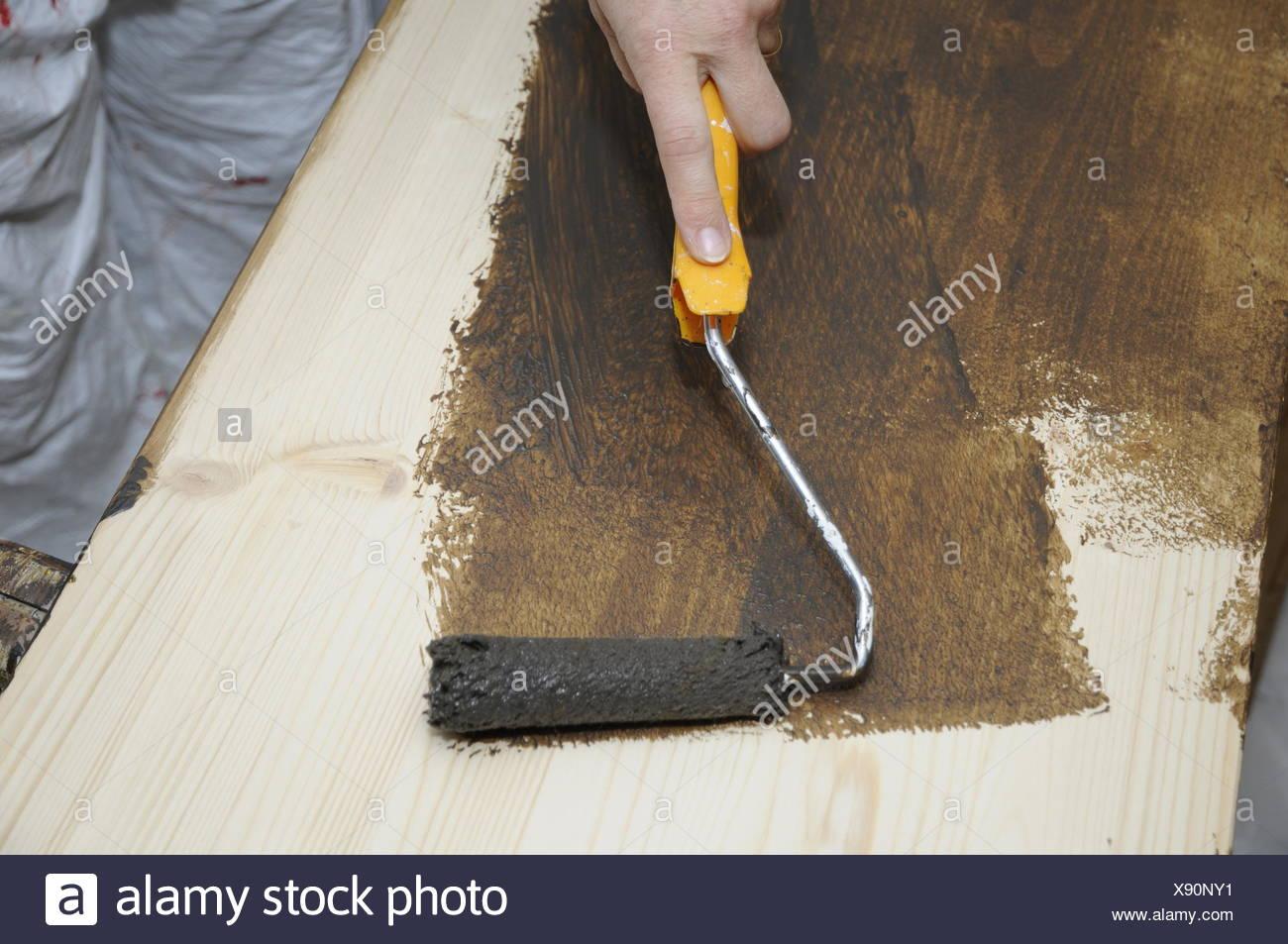 Holz Streichen Stock Photos & Holz Streichen Stock Images