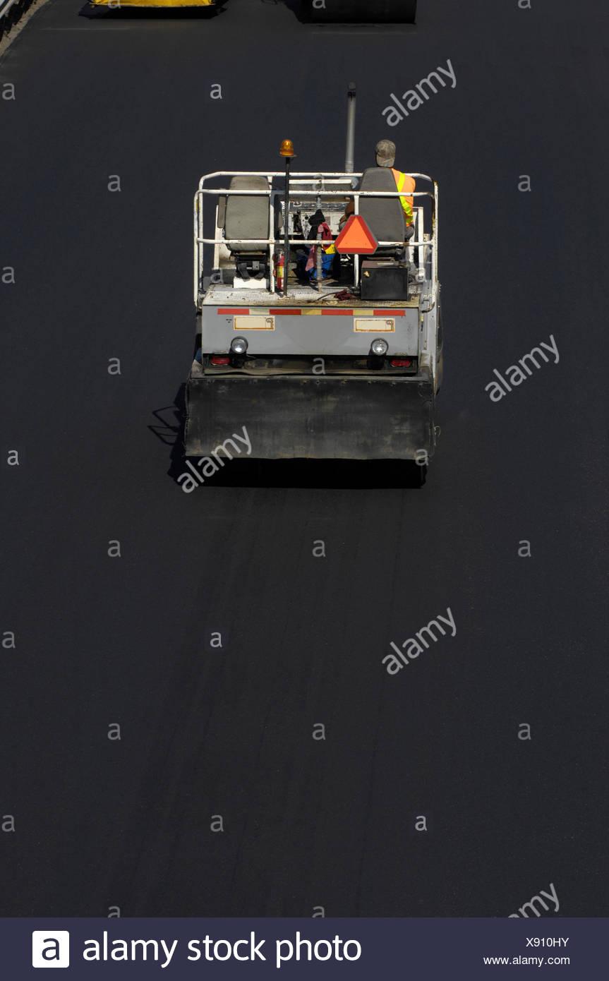 First,Light,1 Person Only,Asphalt,Asphalts,Back Stock Photo