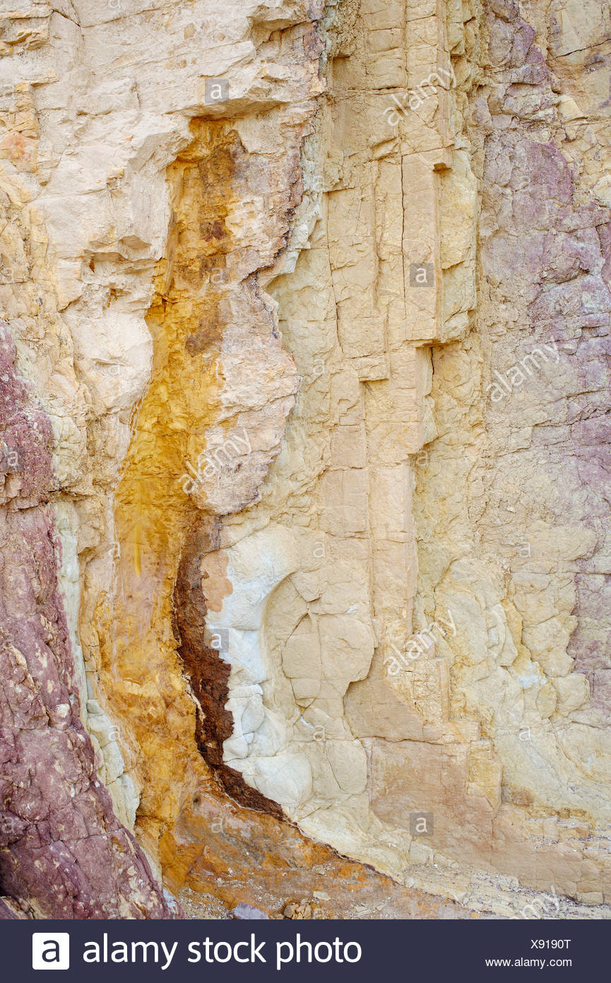 Australia, Ochre Pits, Rock formation - Stock Image