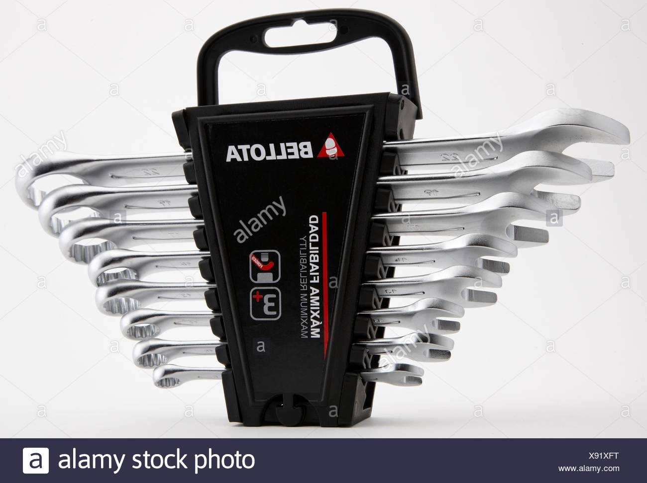 Set of combination spanners - Stock Image