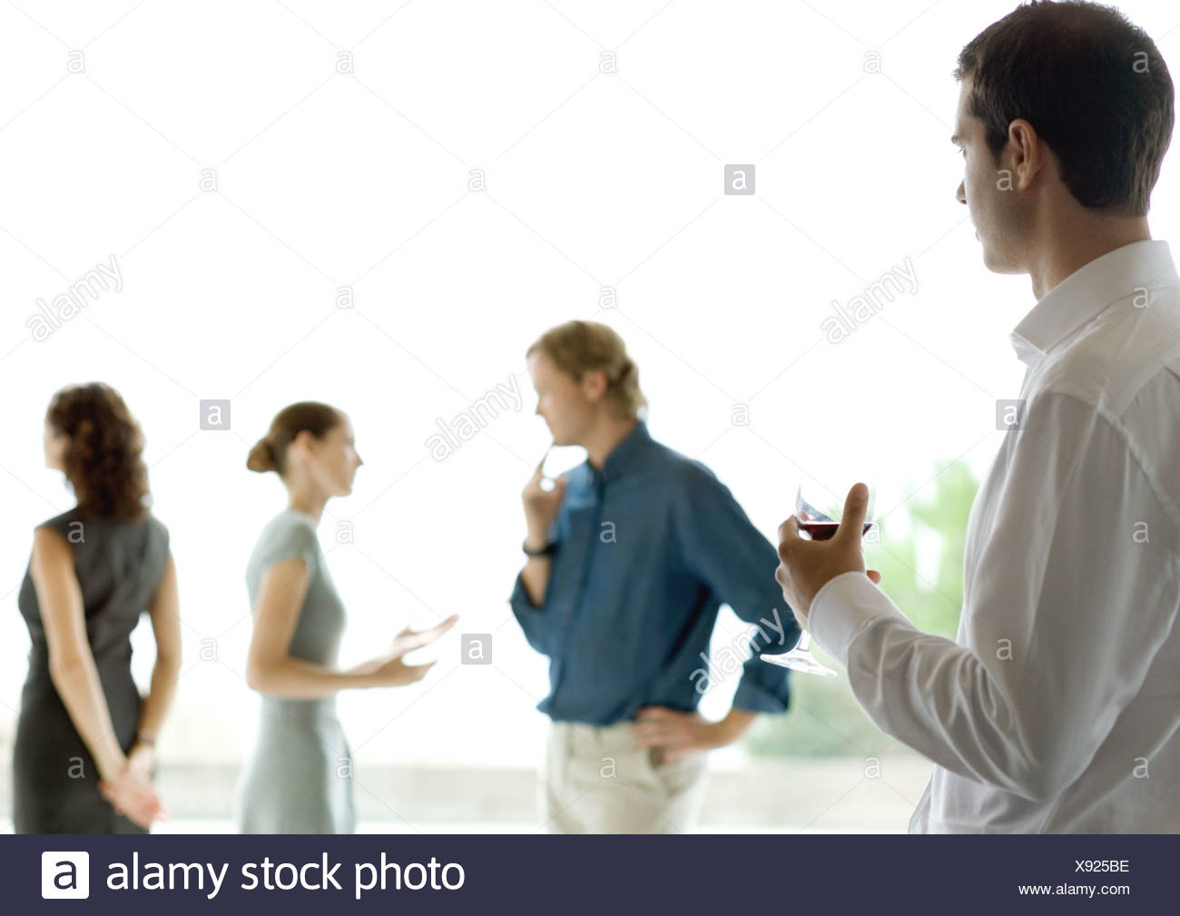 Cocktail party - Stock Image