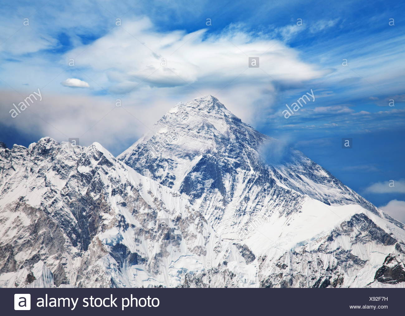 Everest - Stock Image