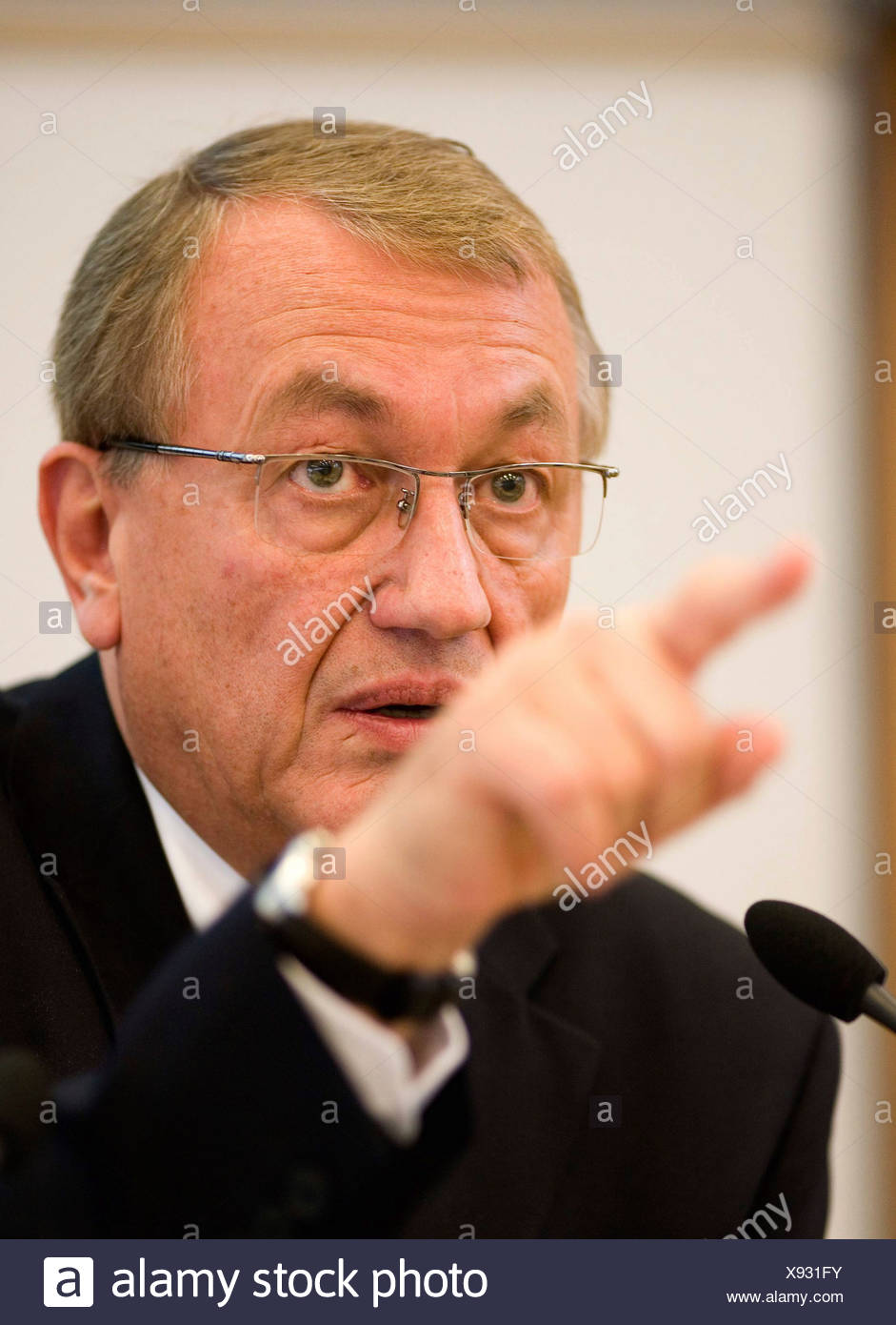 Dr. Uwe Franke, Chief Executive Officer CEO from the Deutsche BP AG - Stock Image
