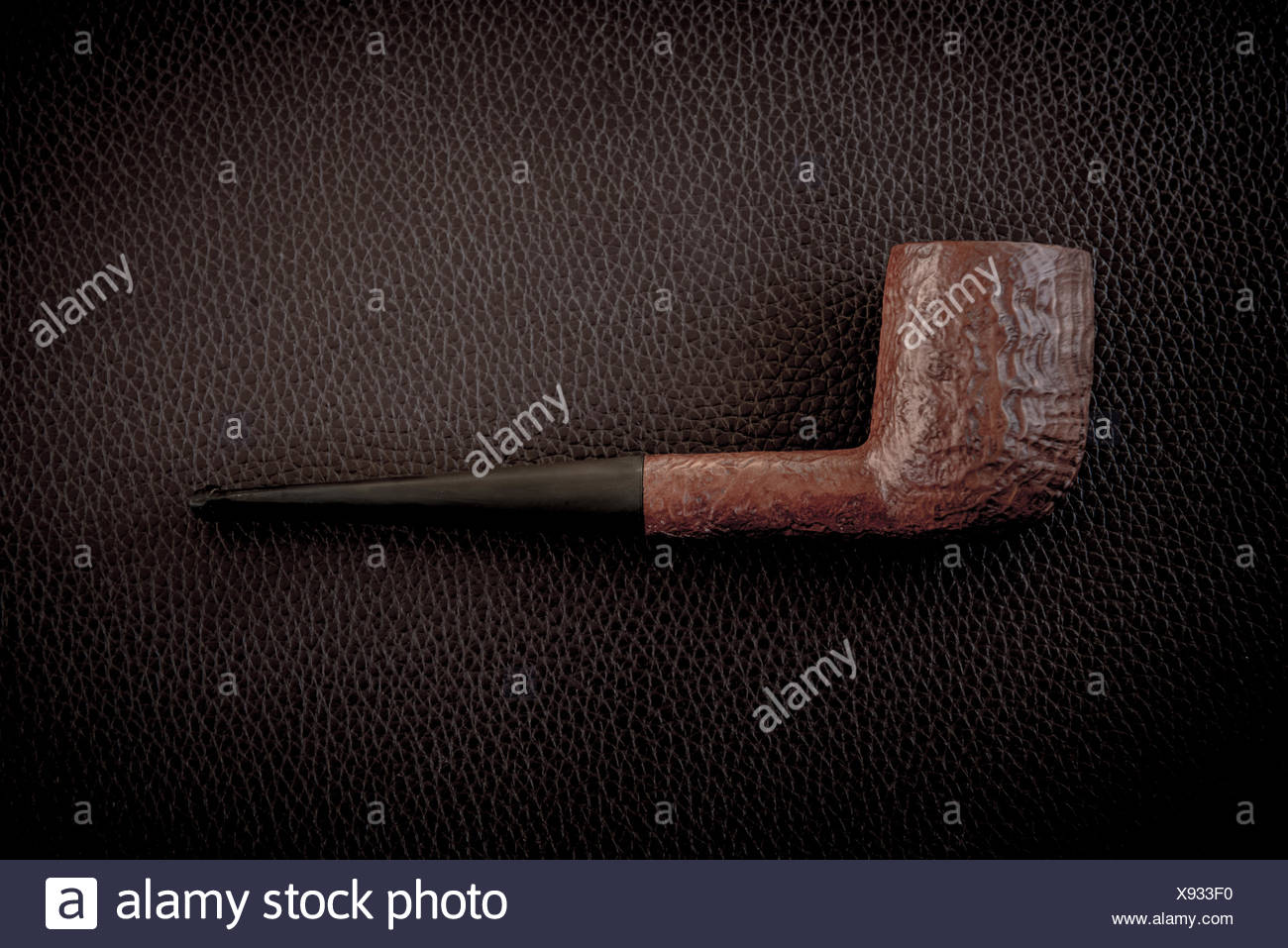 Close-up view of old pipe - Stock Image