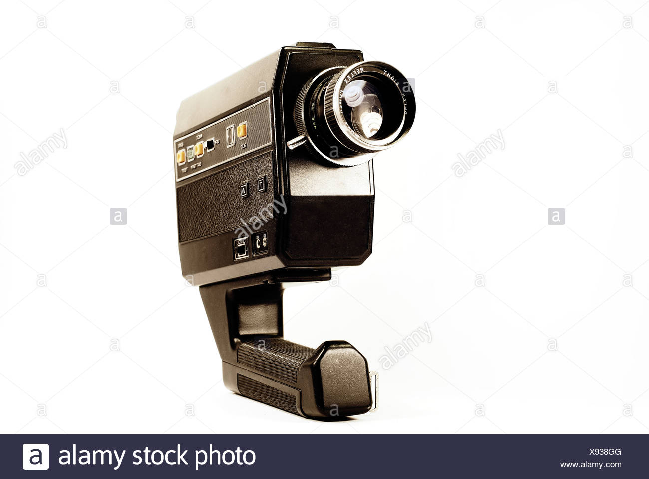old 8 mm camera - Stock Image