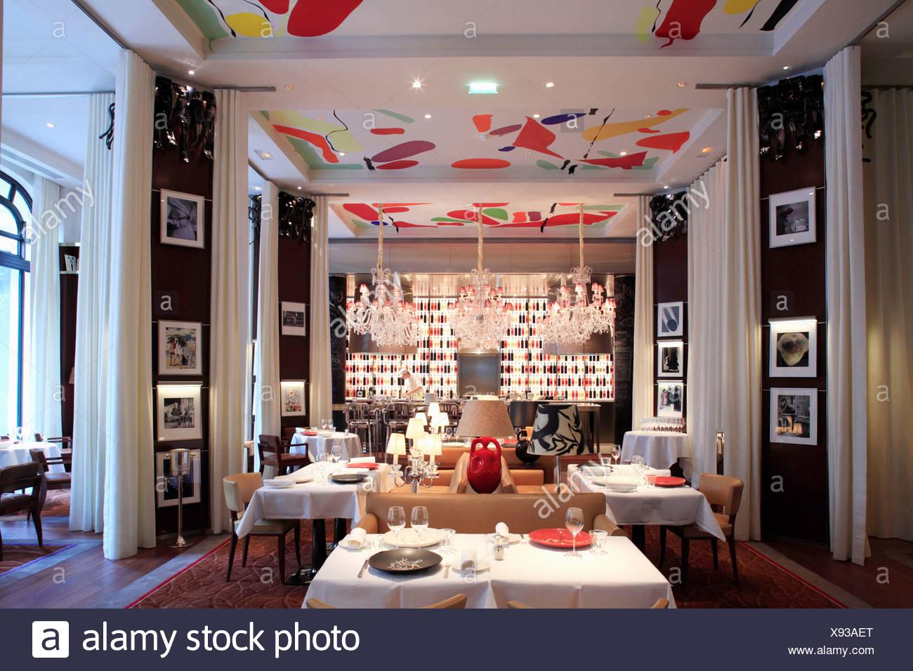 Philippe starck stock photos philippe starck stock images alamy - La cuisine hotel royal monceau ...