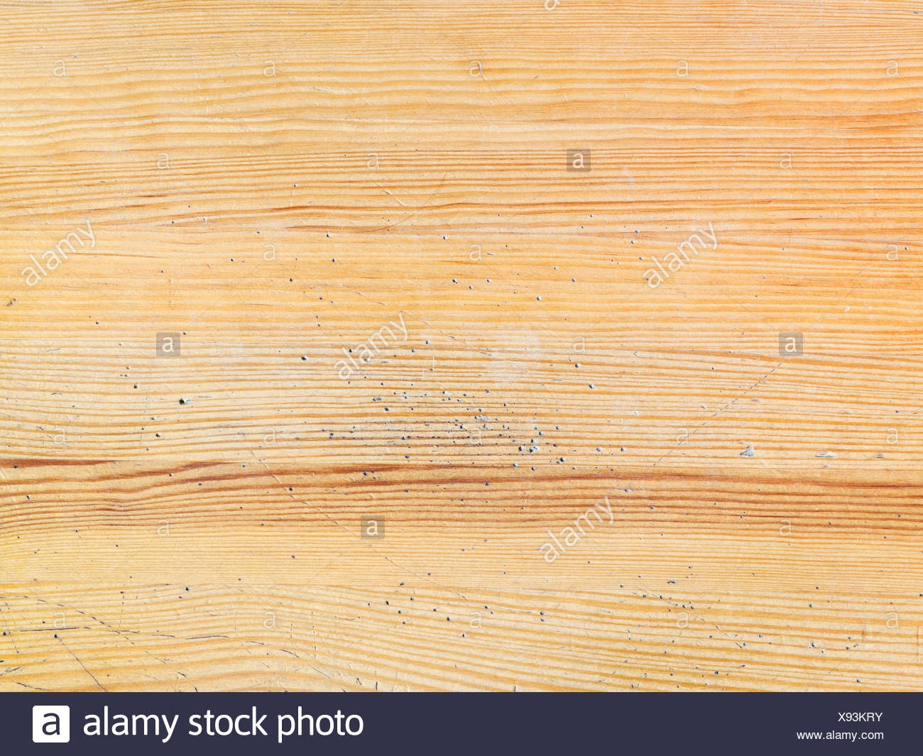 board desk wood pine material drug anaesthetic addictive drug surface timber parquet used painted pattern hardwood plank - Stock Image