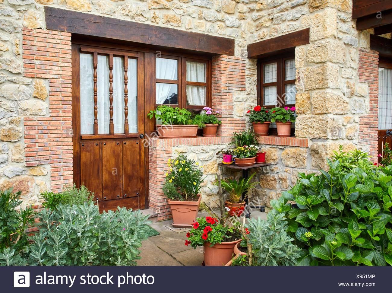 Santillana del Mar, Cantabria, Spain - Stock Image