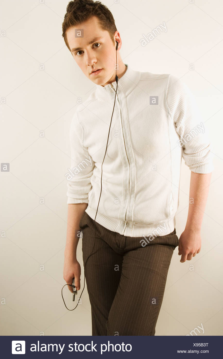 Hands-free in style - Stock Image