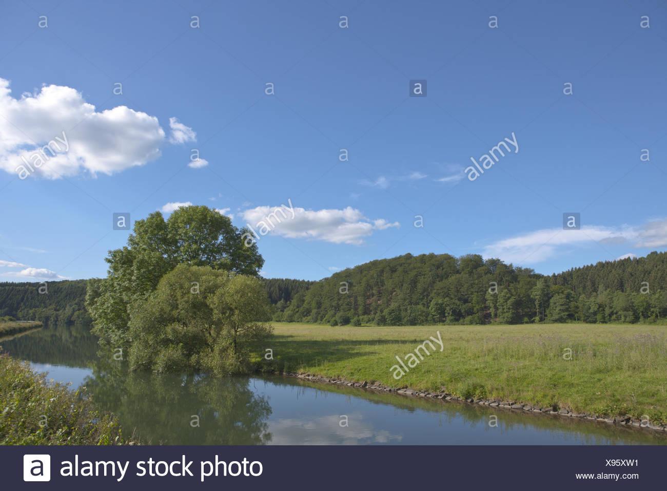 reservoir Ehreshoven Stock Photo