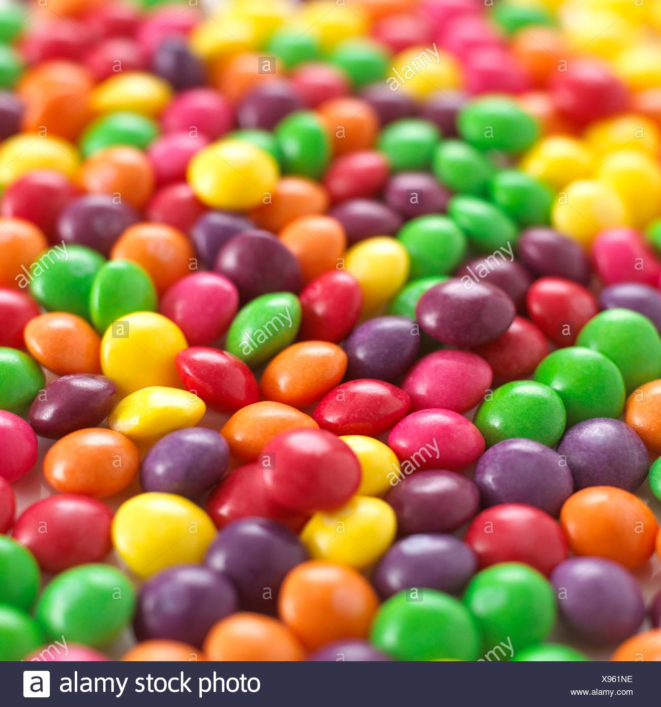 Multicoloured sweets. - Stock Image