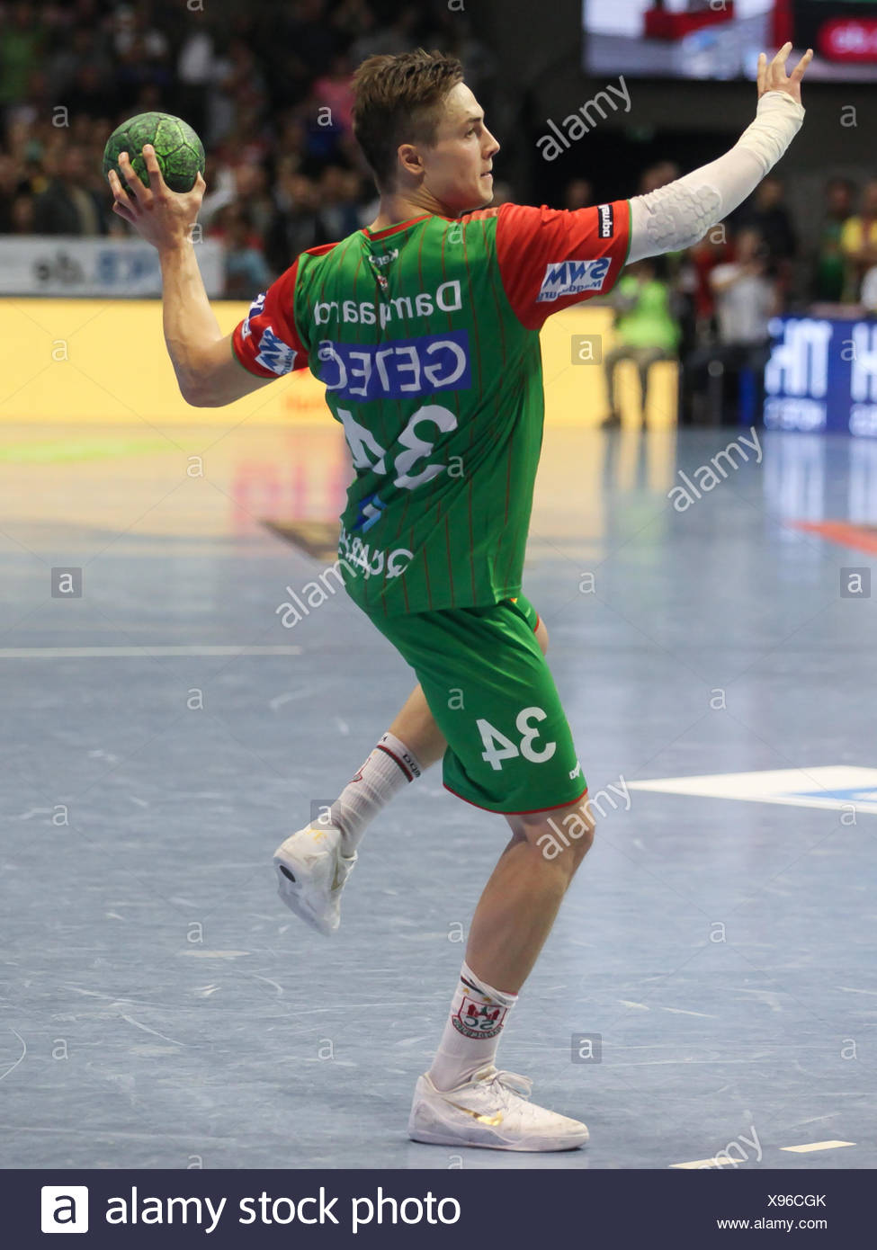 Michael Damgaard (SC Magdeburg) - Stock Image