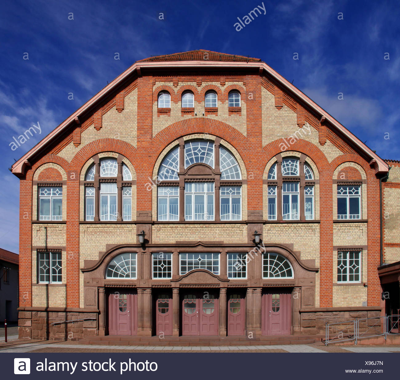 jugendstil festhalle in philippsburg Stock Photo