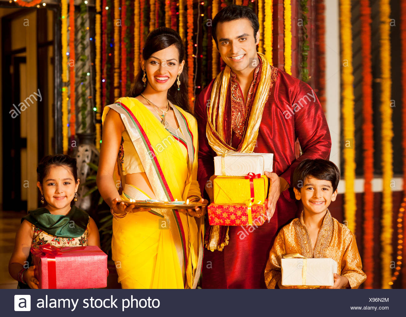 Family Looking Diwali Gifts Stock Photos  for Diwali Gifts For Family  53kxo
