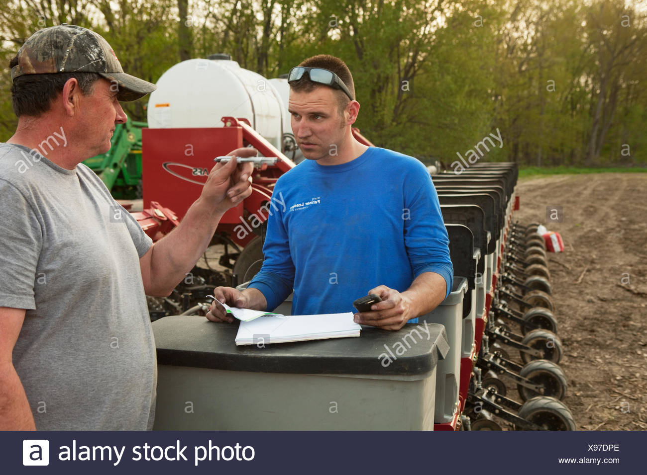 Andrew,Sacks,Ag,Agriculture,Agricultural - Stock Image