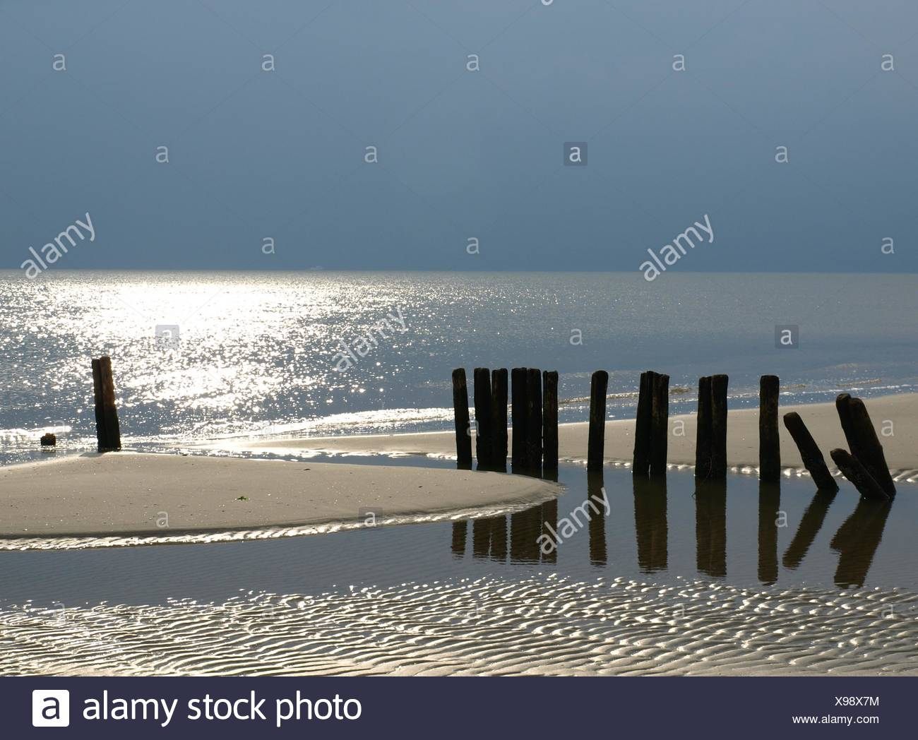 blue hour - Stock Image