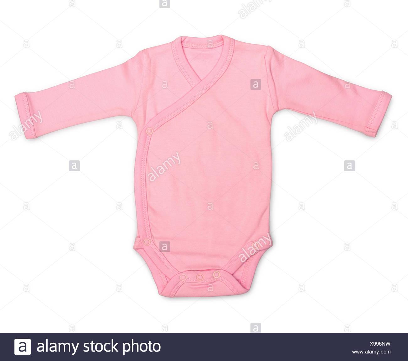 Baby romper - Stock Image