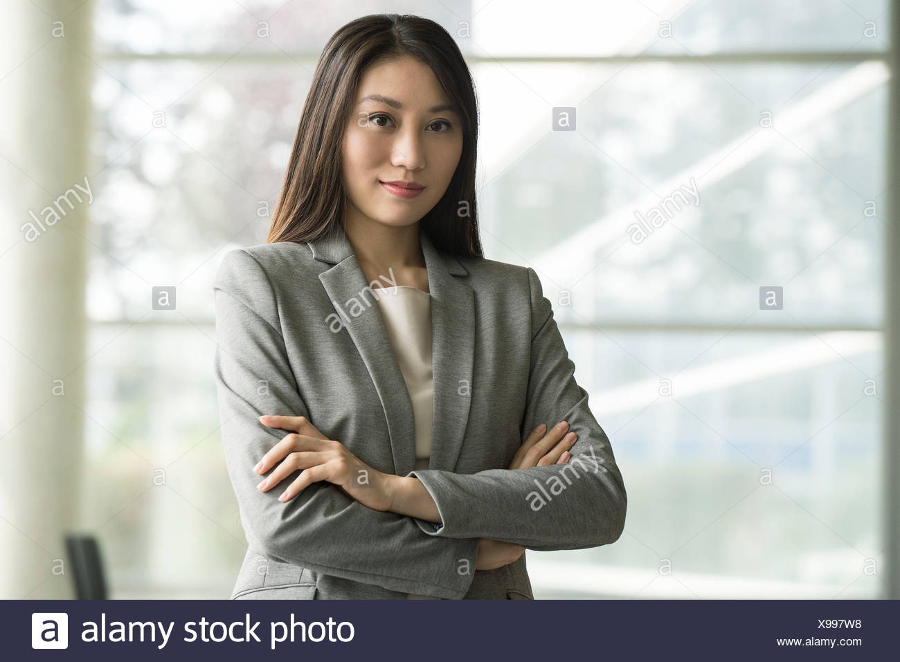 Business CEO, portrait - Stock Image