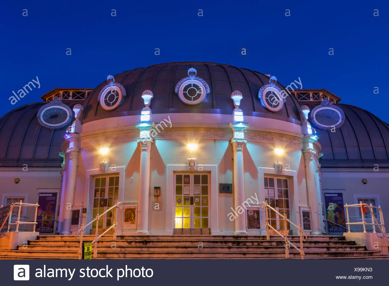 England, West Sussex, Worthing, The Pier Theatre - Stock Image