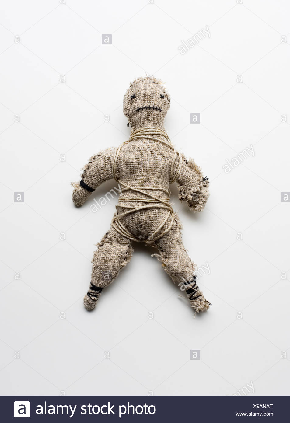 A voodoo doll - Stock Image