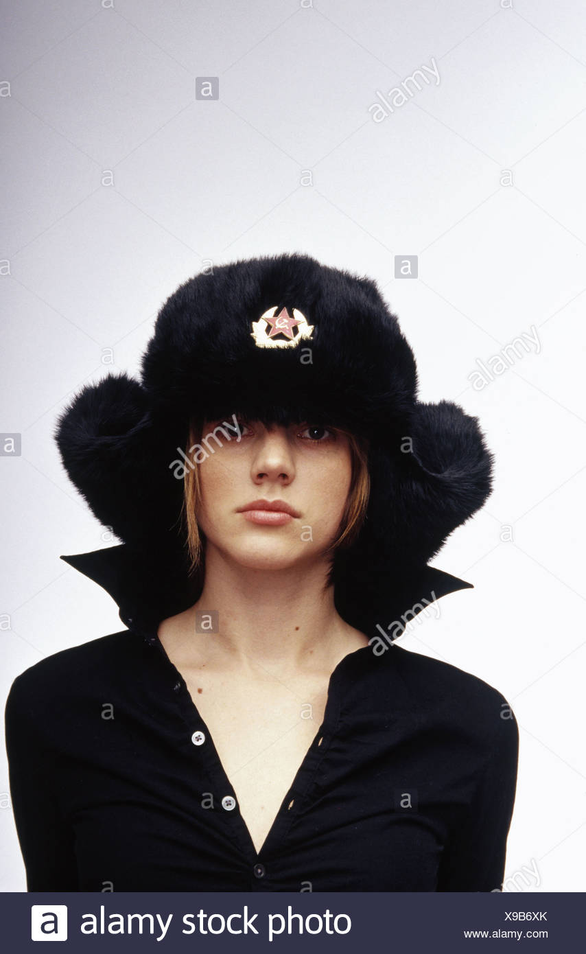 c64663ef2 Woman wearing a communist hat Stock Photo: 281144715 - Alamy