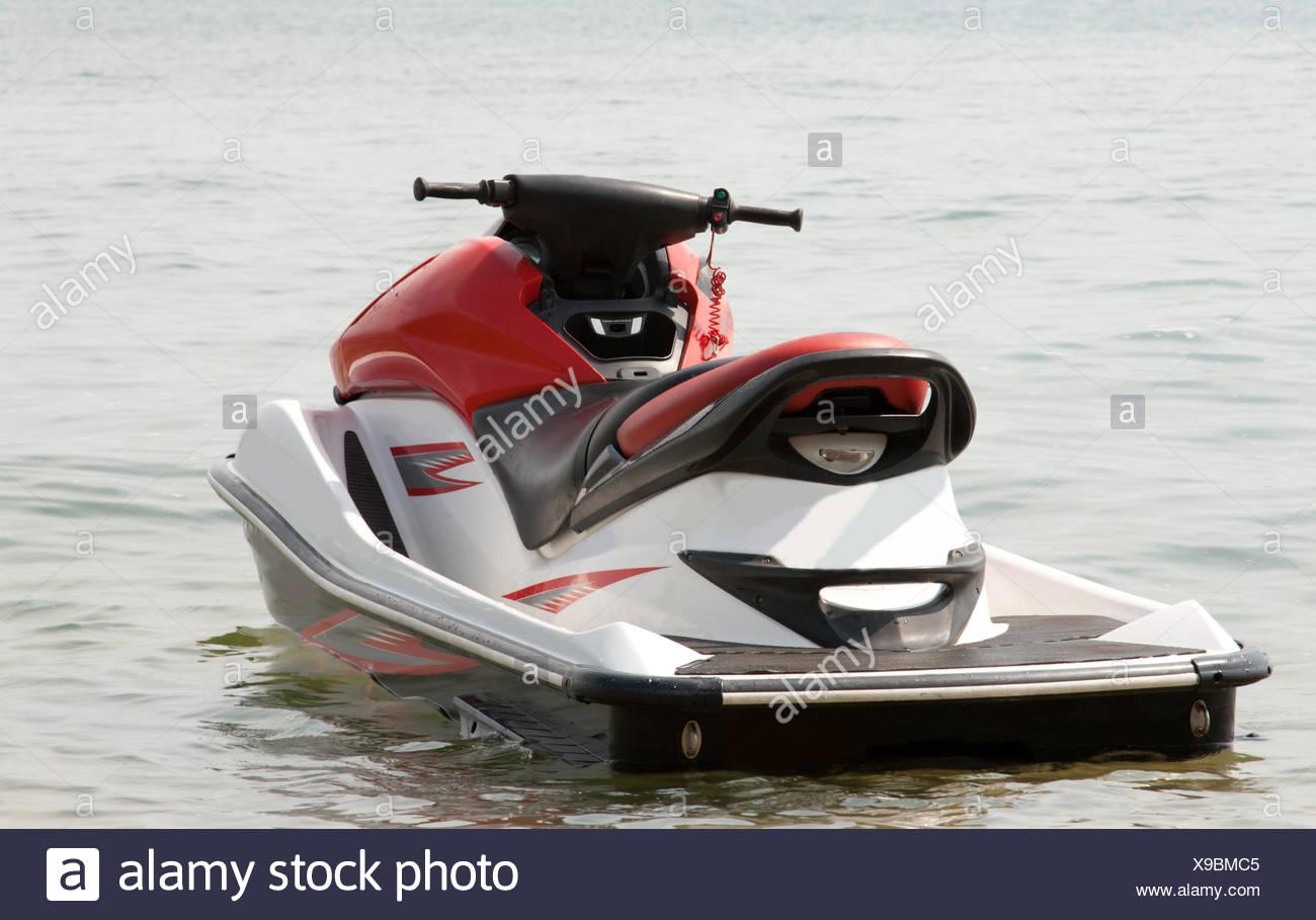 Water motorcycle - Stock Image