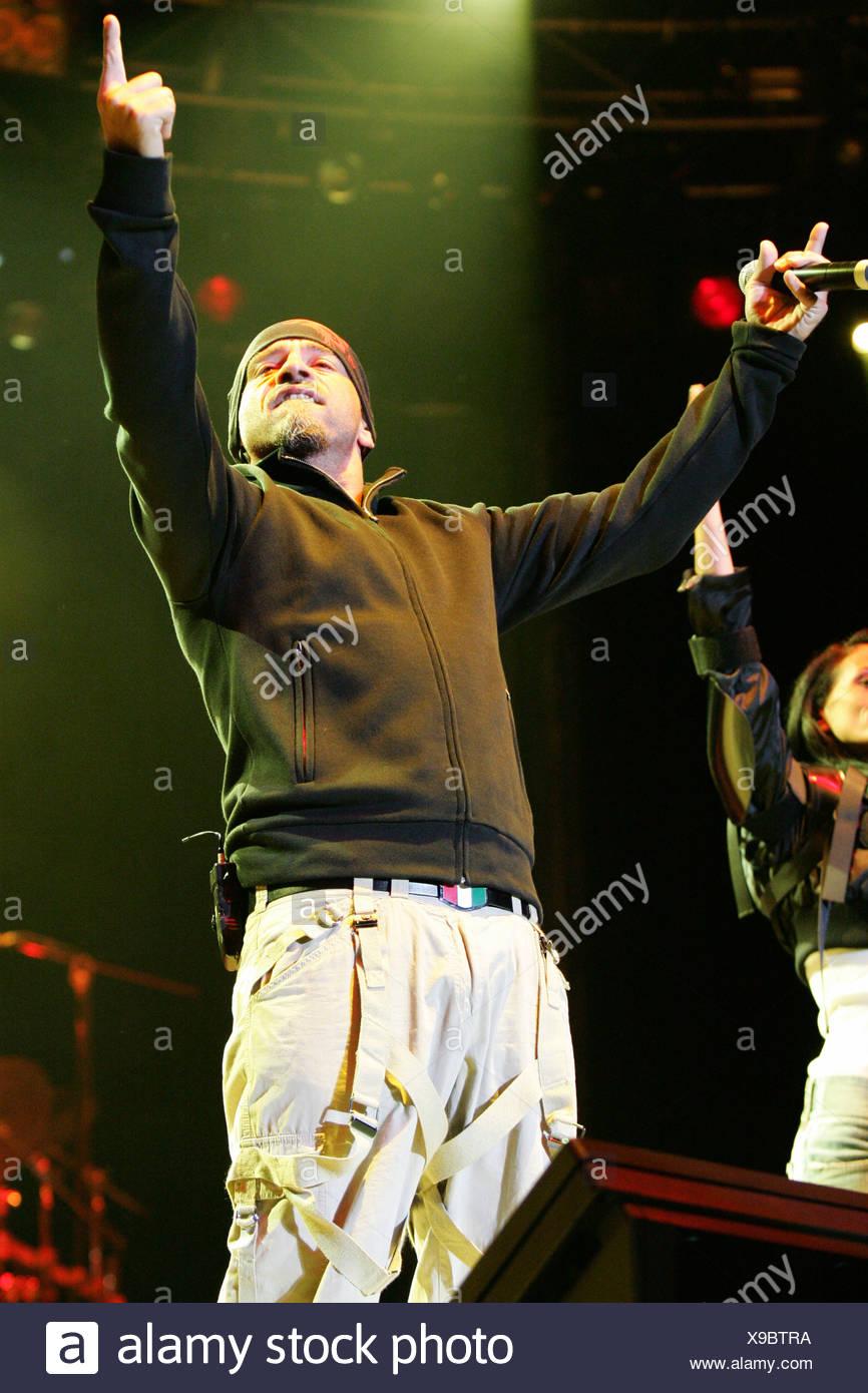 Eros Ramazzotti, Italian singer and pop musician, performing live at the Outside Festival in Dielsdorf, Zurich, Switzerland, Eu - Stock Image