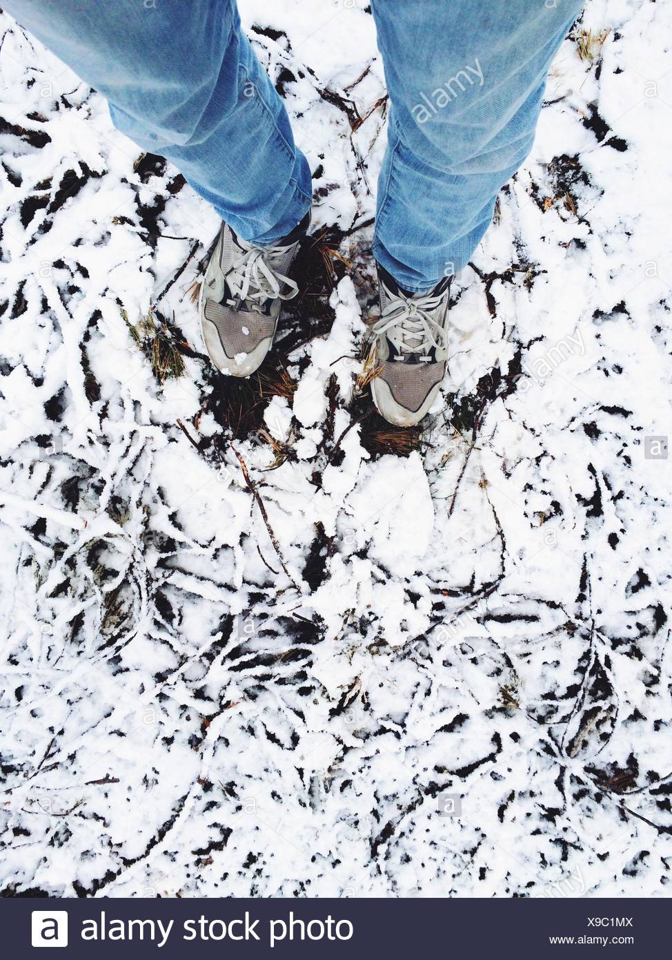 Human Feet - Stock Image