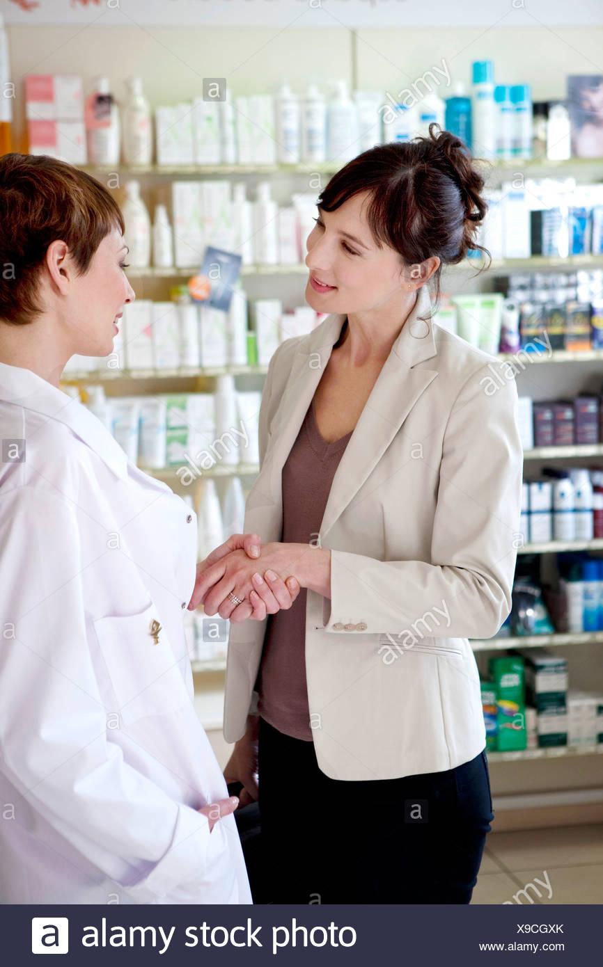 Pharmaceutical Sales Representative Stock Photo 281174507 Alamy