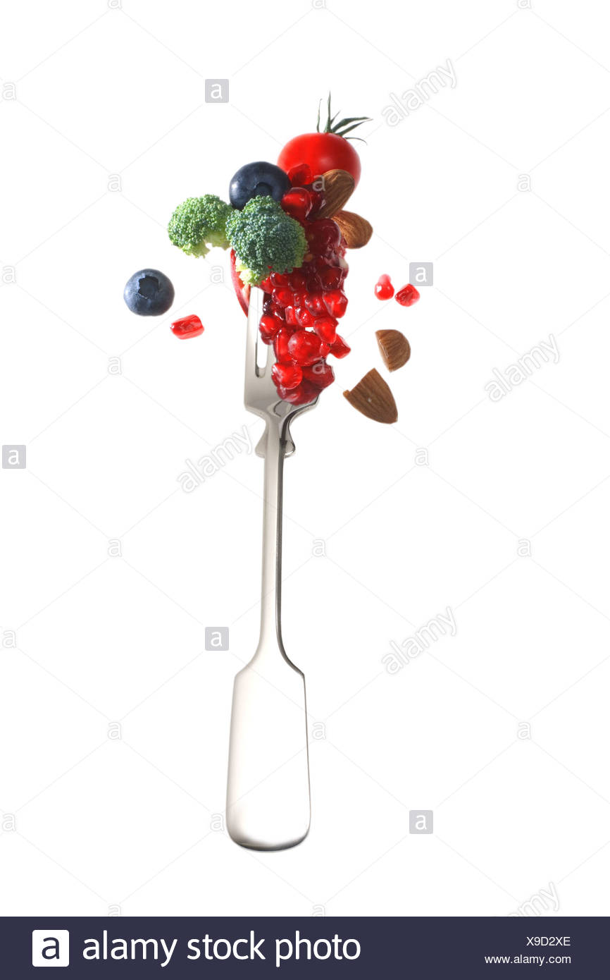fruit and vitamins - Stock Image