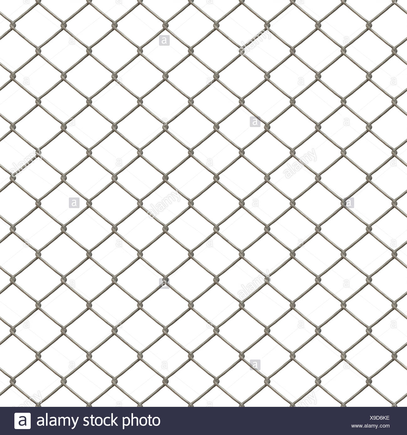 chain link fence texture. Isolated Strong Chain - Stock Image Link Fence Texture H