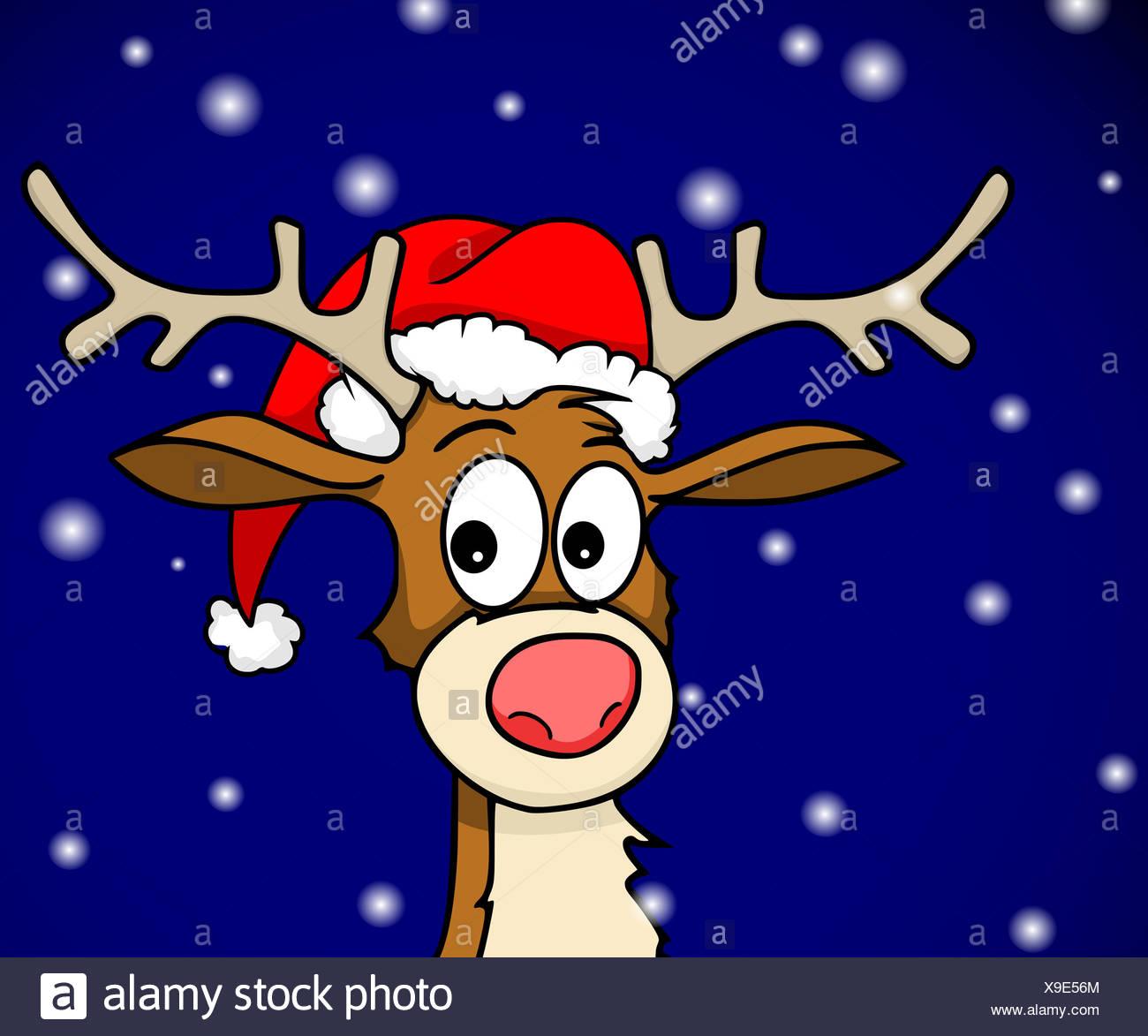 Rudolph Stock Photo
