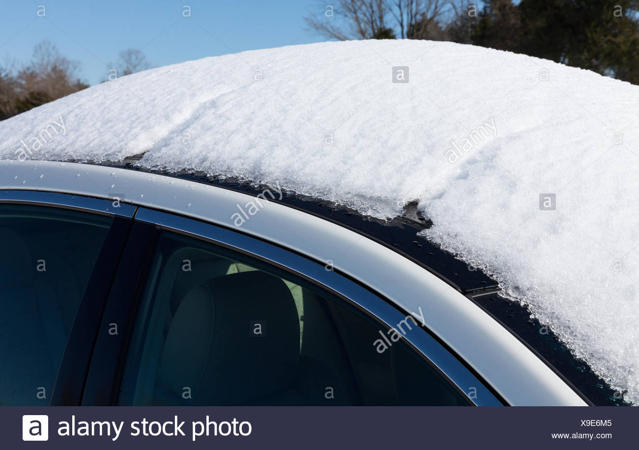 how to drive car in snow