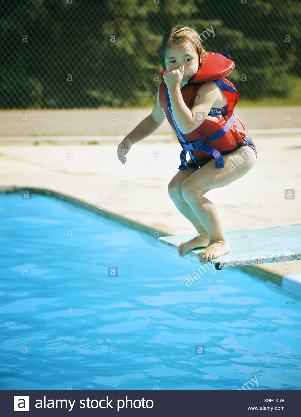 People Jumping Off Diving Board Stock Photos Amp People